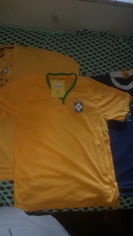 Camisas da seleção novas originais CBF - Foto 3