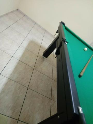 Mesa Tentação 1,93 x 1,18 Cor Tabaco Tecido Verde Mod. KHYB9408