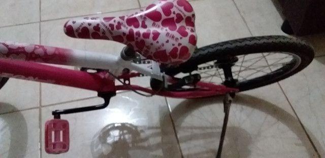 Vende-se bicicleta Houston menina - Foto 3