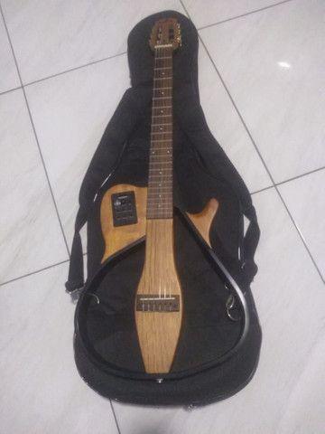 Vendo violão elétrico MARQUÊS - Foto 6