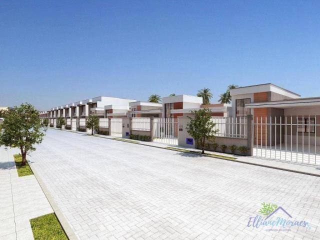 Casa à venda, 132 m² por R$ 469.000,00 - Tamatanduba - Eusébio/CE - Foto 2