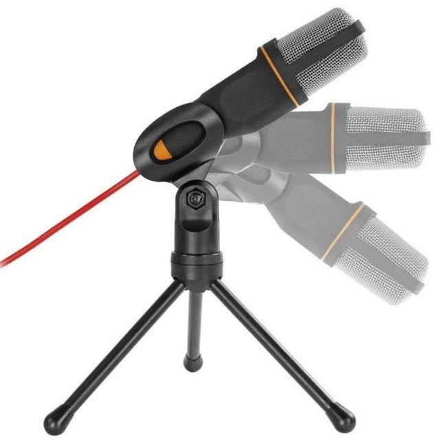 Microfone Condensador para Palestras e Computador