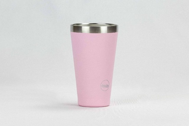 Copo termico Magic beer Rosa - estilo stanley - Foto 3