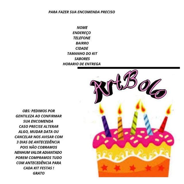 Kit festa  - Foto 6