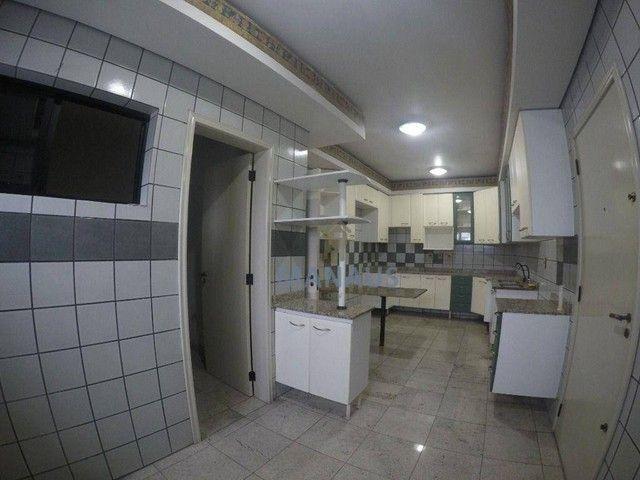 Apartamento com 4 dormitórios para alugar, 186 m² por R$ 3.900/mês - Adrianópolis - Manaus - Foto 5