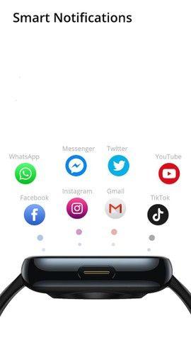 Smartwatch A prova dágua IP68 p/ Android e iOS - Foto 4