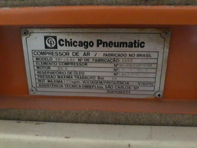 compressor de parafuso 40 hp - Foto 4