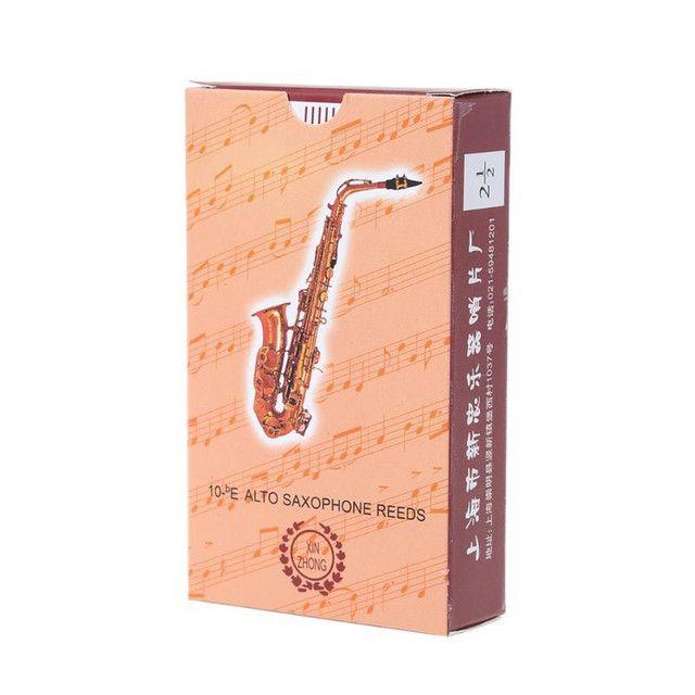 10x Palhetas para Saxofone Alto - Foto 3