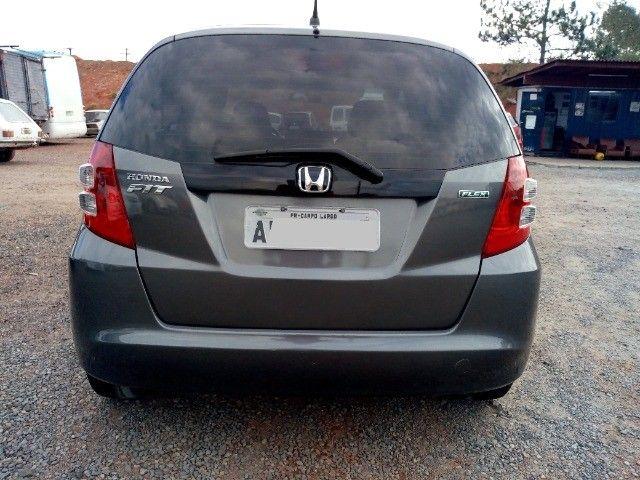 Honda Fit lxl flex 1.4 101cv cambio manual , dir hid, ar cond abs air bag  2010 - Foto 4