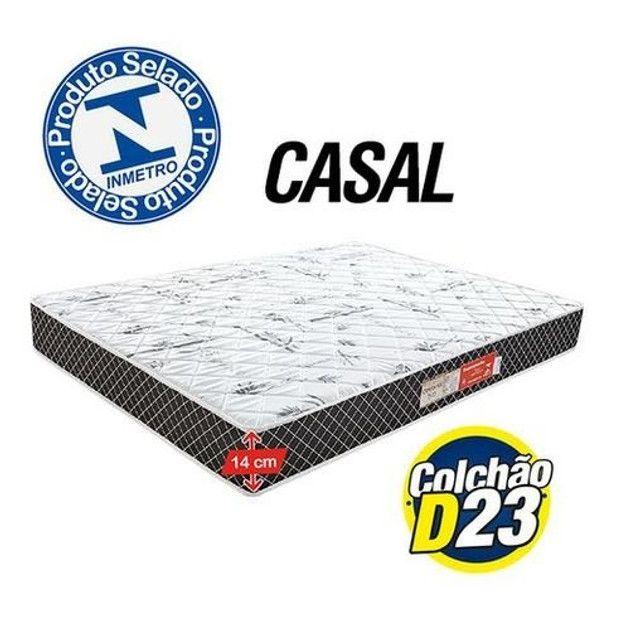 Colchão Casal modelo com espuma - pronta entrega   Temos outros produtos