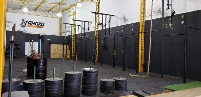 Rack funcional para CrossFit - 18 Metros comprimento