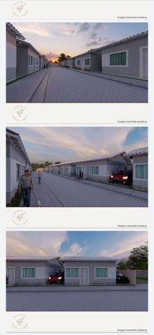 Vendo casa linear com 2 quartos sendo 1 suíte , area gourmet e garagem - Chácara Mariléa - Foto 4