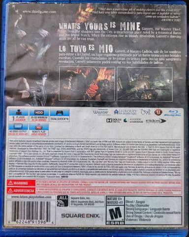 Thief PS4 jogo  - Foto 3