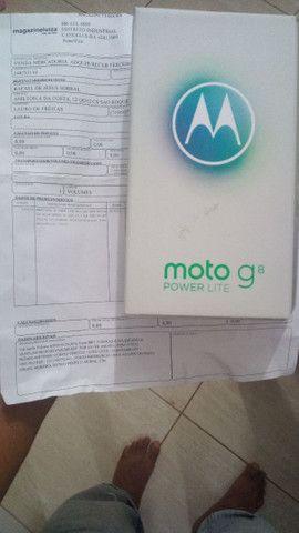 Moto g8 Power lite 4de ram 64gb de memória - Foto 3