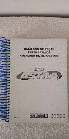 Catálogos ORIGINAIS completos Astra Ômega Silverado Grand Blazer S-10 Vectra