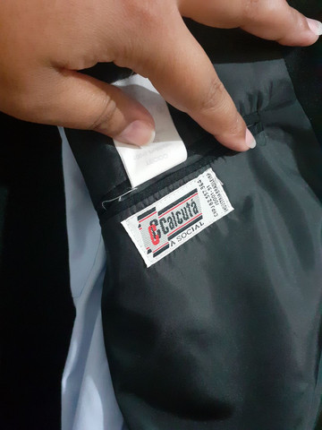 Vendo terno impecável! Vai com a camisa da marca Tevah e a gravata de brindes. - Foto 4