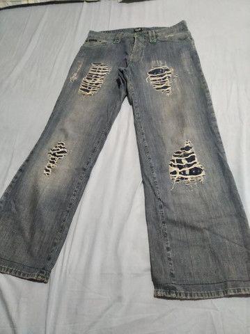 Calça Jeans D&G Made in Italy Masculino