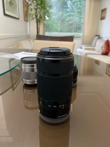 Lente Sony E 55-210mm F/4.5-6.3 Oss