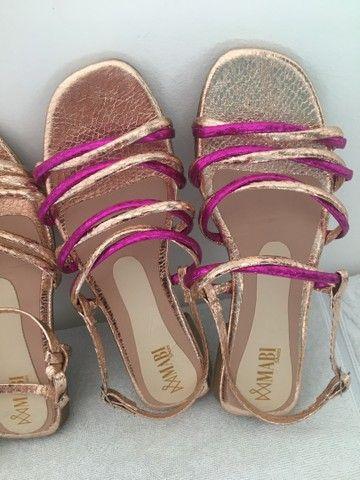 Rasteira e sandália - Foto 2