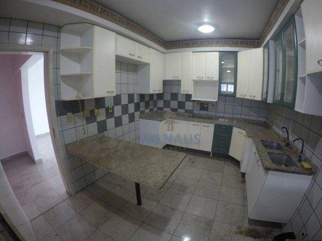 Apartamento com 4 dormitórios para alugar, 186 m² por R$ 3.900/mês - Adrianópolis - Manaus - Foto 3