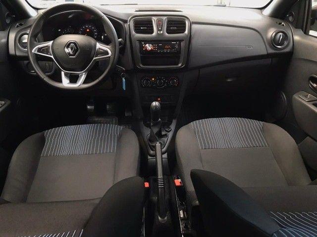 Renault- Logan Life 1.0 Flex Manual (Seminovo, Imposto 2021 pago) - Foto 15