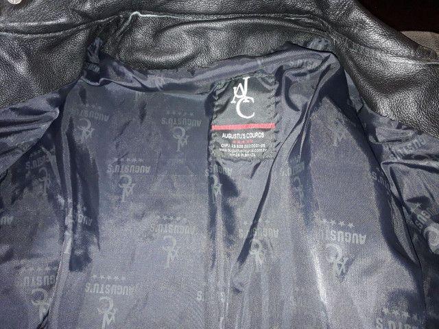 Jaqueta de couro sem uso - Foto 4