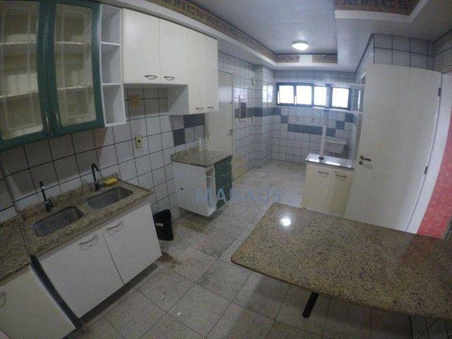 Apartamento com 4 dormitórios para alugar, 186 m² por R$ 3.900/mês - Adrianópolis - Manaus - Foto 4