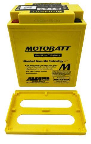 Bateria Motobatt Mbtx14au Honda Cb 750k Four 69-82 Cbx750 Cbf1000 Triumph 900 Yb14a2 - Foto 3