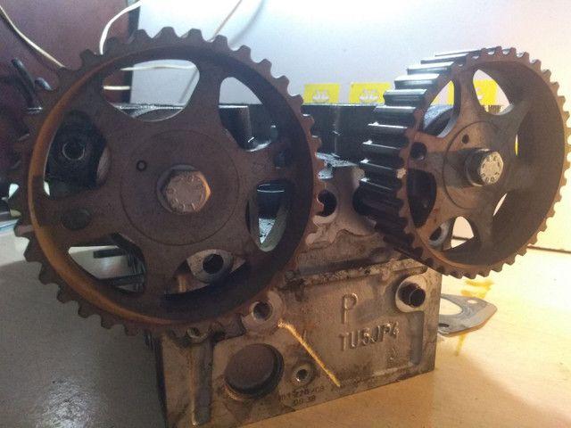 Cabeçote citroen C4 C3 Peugeot 206 207 307 todos 1.6 16 válvulas - Foto 2