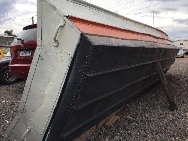 barco alumínio usado 6 metros  - Foto 3