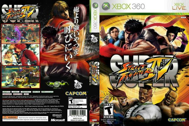 Vendo super Street fighter iv de xbox 360