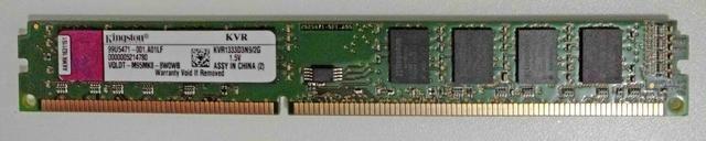 Memória DDR3 2GB Kingston
