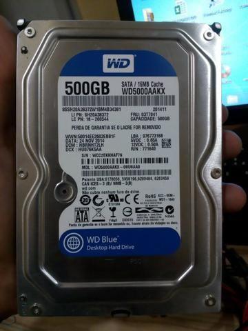 HD 500gb WD para computador