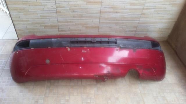 Parachoque traseiro Citroen C3 2008 a 2012 usado