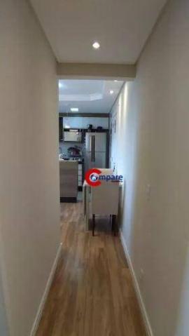 Apartamento com 2 dormitórios à venda, 44 m² por r$ 265.000 - vila rio de janeiro - guarul - Foto 2