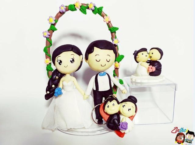 Kit de Casamento em Biscuit - Serviços - Vila Sarapuí, Duque