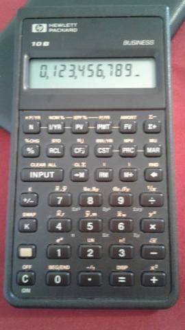Calculadora HP 10B
