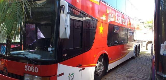Ônibus DD Scania K113 Impecável - Pronto para viajar e trabalhar! - Foto 3