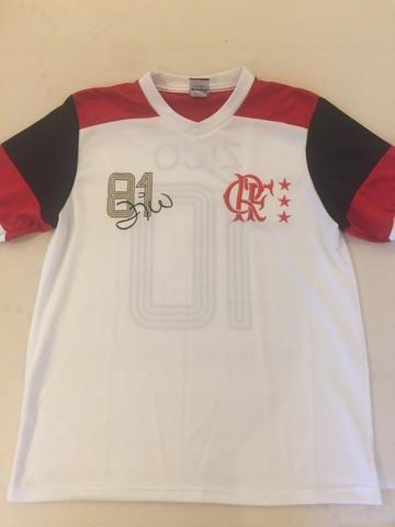 ed5bae518c Camisa Flamengo Zico Retrô 81 - Promoção - Roupas e calçados - Santo ...