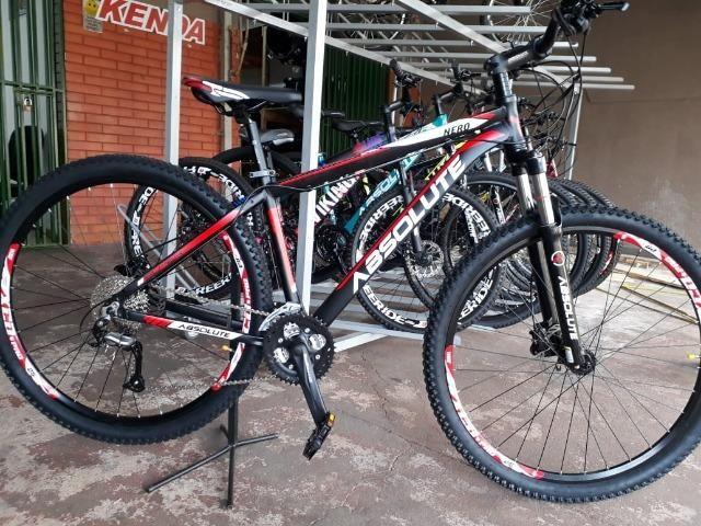 Bicicleta Aro 29 Absolute 24 Marchas Freio a Disco Hidráulico 586748cf255