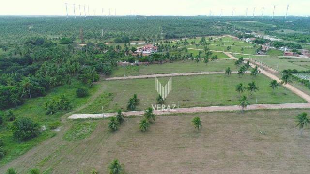 Terreno à venda, 300m² por r$ 22.000,00 - trairi - ceará - trairi/ce - Foto 10