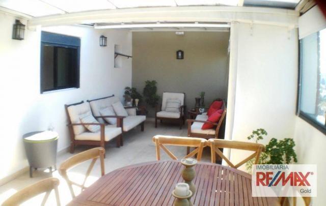 Cobertura 3 dormitórios,2 suítes,churrasqueira,home theater ,rua passo da patria - Foto 9