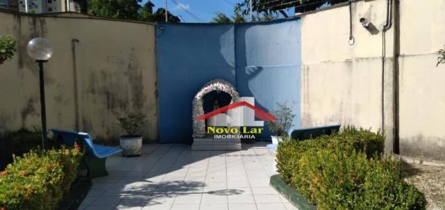 Apartamento com 3 dormitórios à venda por R$ 180.000,00 - Fátima - Fortaleza/CE - Foto 3