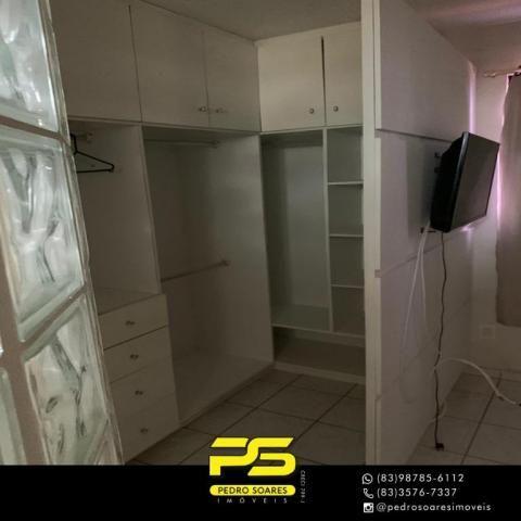 Apartamento com 3 dormitórios à venda, 73 m² por R$ 400.000 - Tambaú - João Pessoa/PB - Foto 8