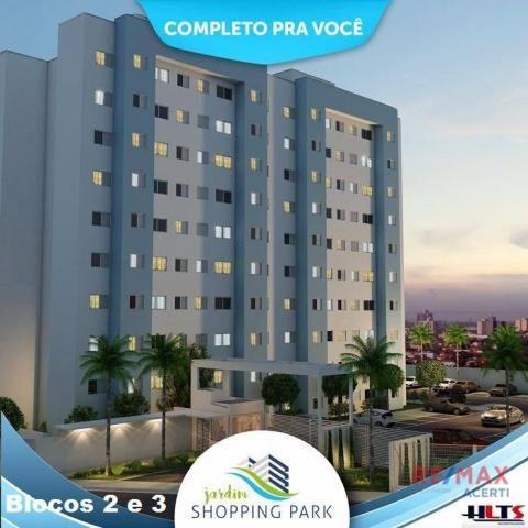 Apartamento com 2 dormitórios à venda, 45 m² por R$ 122.590,00 - Shopping Park - Uberlândi - Foto 3