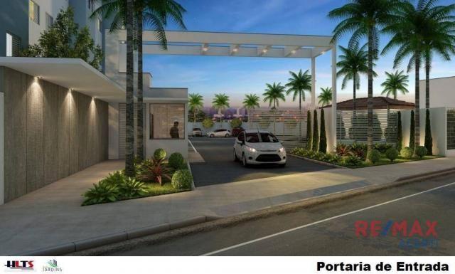 Apartamento com 2 dormitórios à venda, 45 m² por R$ 122.590,00 - Shopping Park - Uberlândi - Foto 4