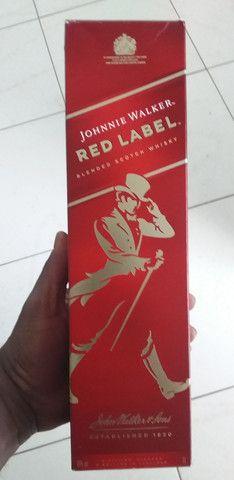 Whisky red label vendo ou troco.