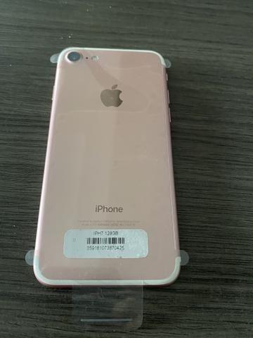 IPhone 7 128 semi novo Rose sem detalhes Parcelo no Cartão