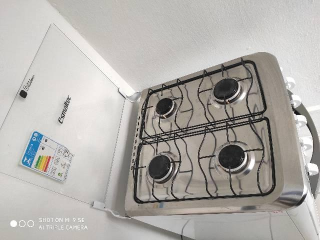 Fogão Esmaltec 4 bocas com acendimento automático - Foto 5