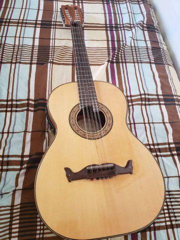 Viola de luthier Laércio Sandy - Foto 6